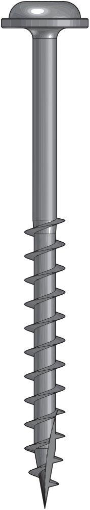 Wood Screw 2 Inch Coarse-50Ct