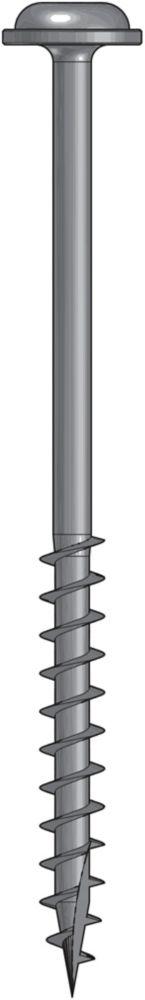 Wood Screw 2.5 Inch Coarse-50Ct