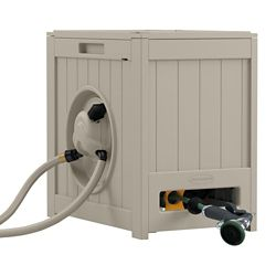 Suncast Dévidoir de tuyau auto-enrouleur Hydro Power Auto Rewind™  –  38 m