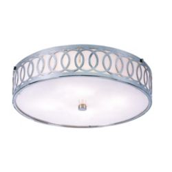 Bel Air Lighting Balboa 4-Light Polished Chrome Flushmount