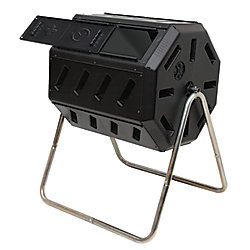 FCMP Composteur à Tambour Rotatif Avec Deux Chambres Pour Un Compostage Par Lots Efficace