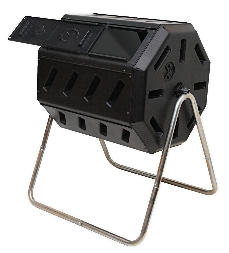 Composteur à Tambour Rotatif Avec Deux Chambres Pour Un Compostage Par Lots  Efficace