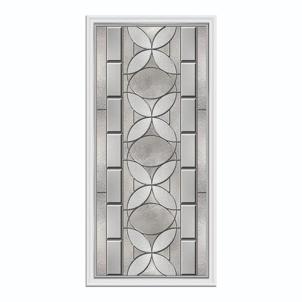 panneau vitré de porte 3/4 carreau
