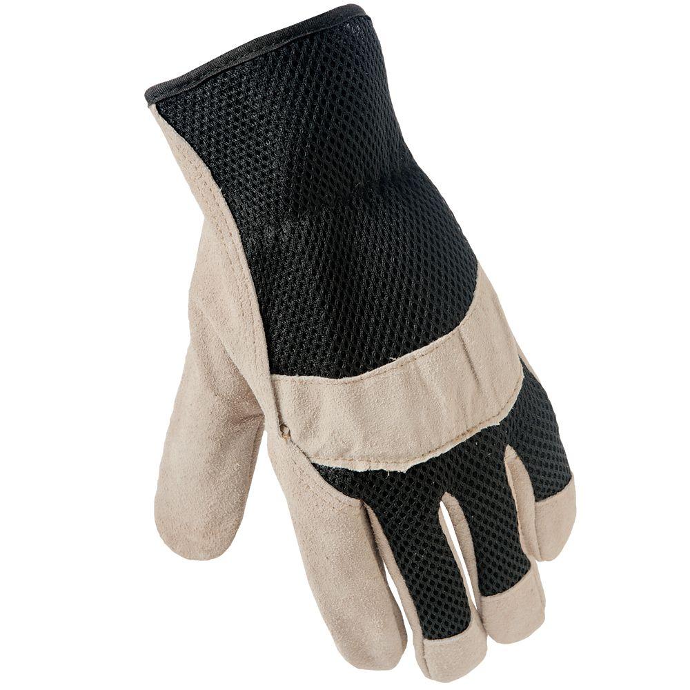 Fg Grain Leather W/Mesh Back - Xl C5104-06 Canada Discount