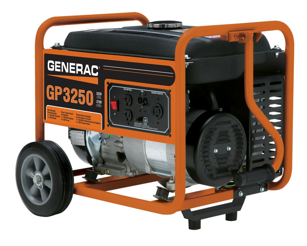 GP 3250 Watt Portable Generator