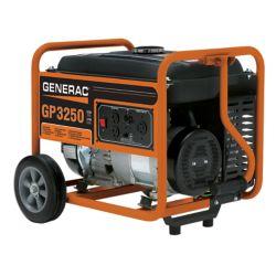 Generac 3,250W Gasoline Powered Portable Generator