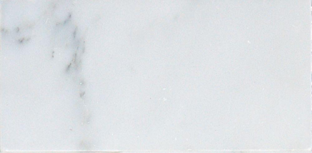 msi stone ulc greecian white 3 in x 6 in polished marble