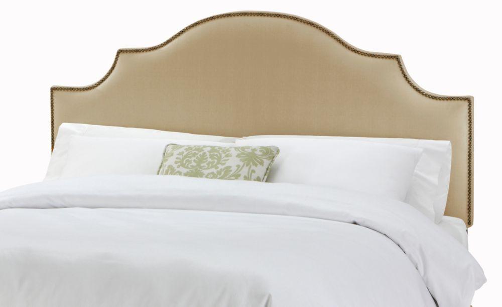 Skyline Furniture Tête de lit double à encoches et têtes