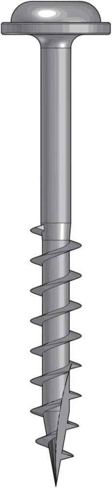 Wood Screw 1.5 Inch Coarse-100Ct