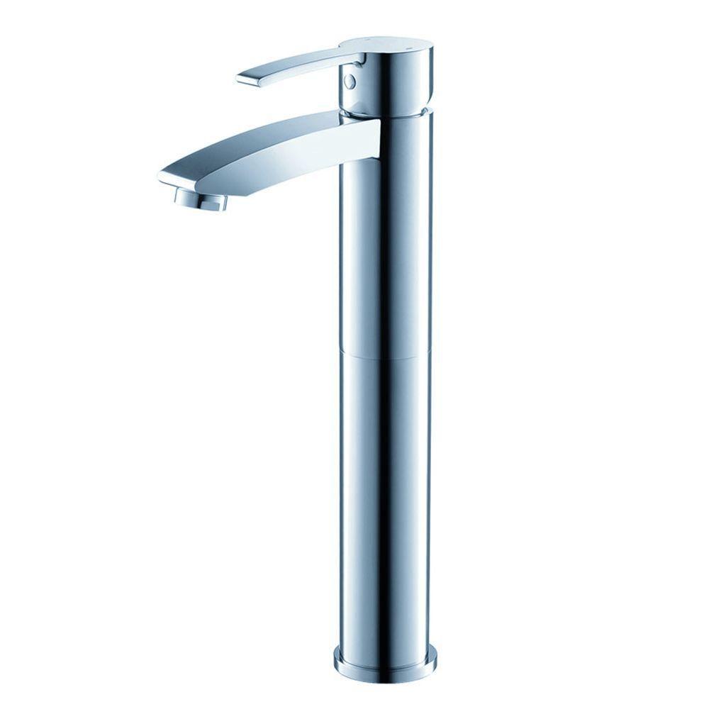 Livenza Single Hole Vessel Bathroom Vanity Faucet in Chrome Finish