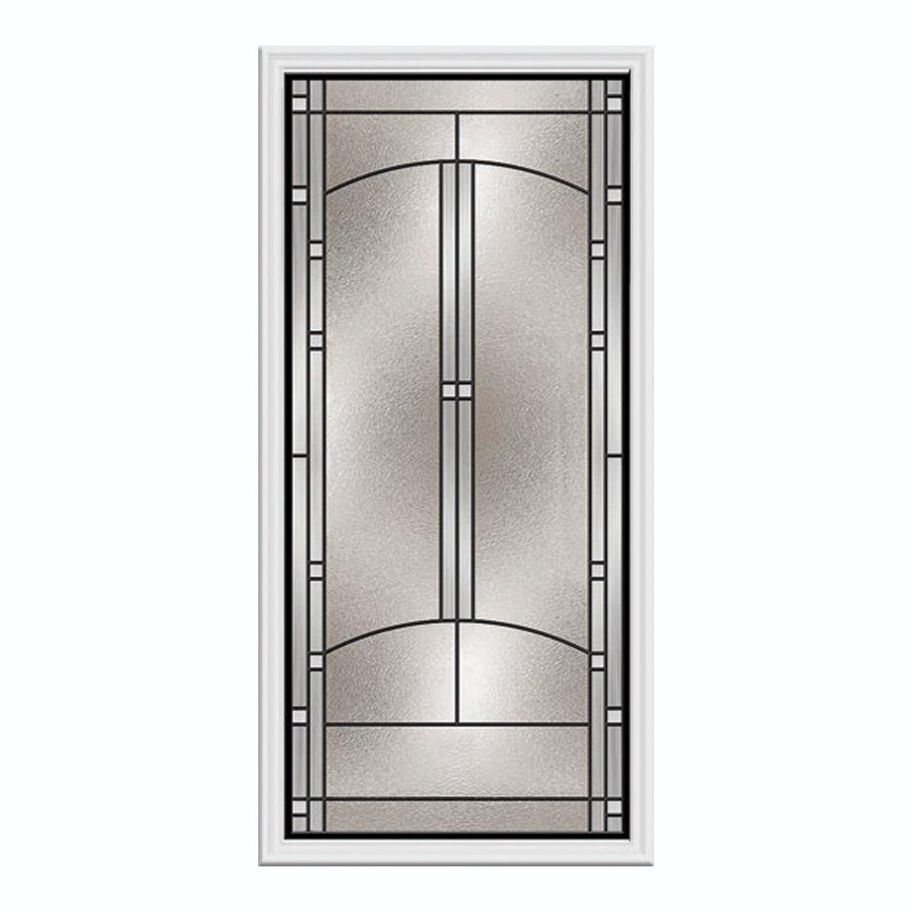 Entry door inserts the home depot canada - Exterior door glass inserts home depot ...