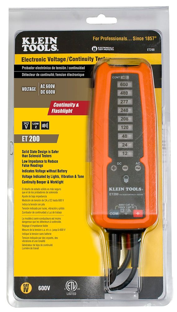 Home Electric Testers : Electrical testers tools the home depot canada