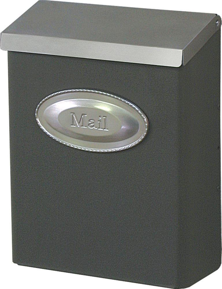 Bronze Designer Wallmount Mailbox