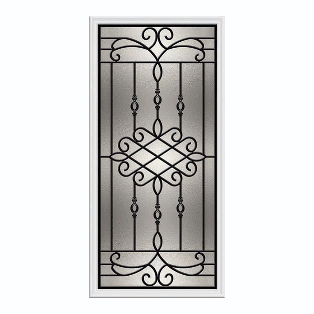 Sanibel 22-inch x 48-inch Wrought Iron with HP Frame