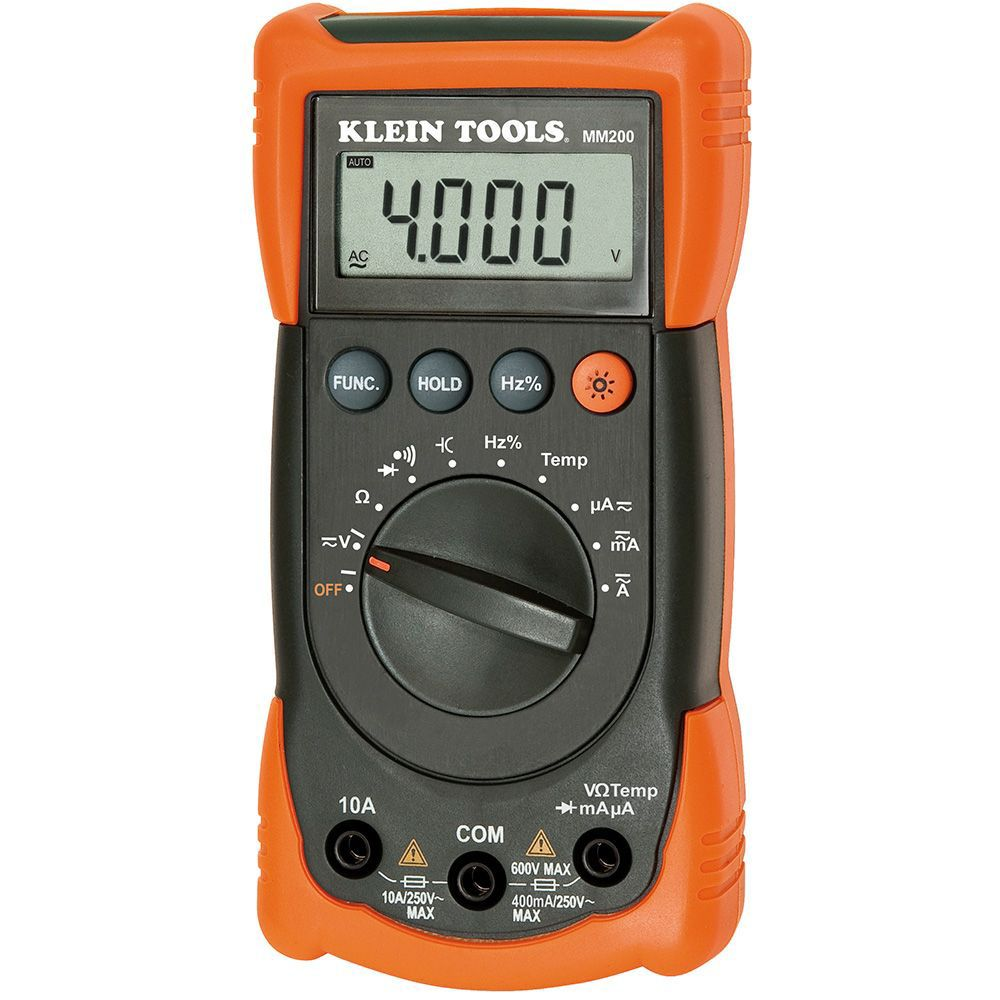 Multimeter For Home : Klein tools auto ranging multimeter the home depot canada