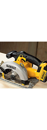 Dewalt 20-Volt Cordless Circular saw or Dewalt Reciprocating Saw $125.1 after PM