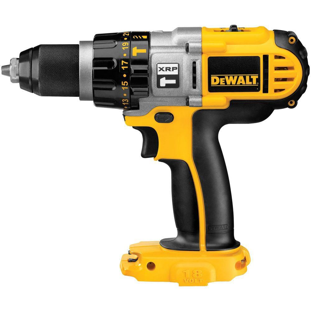 DEWALT 18V XRP 1/2-inch Cordless Hammer Drill/Driver (Tool Only)