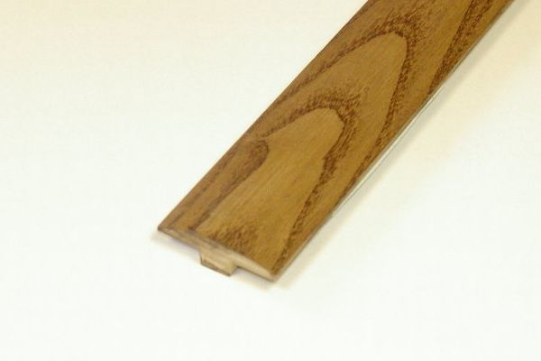 Ash Caramel T-Molding - 78 Inch Lengths