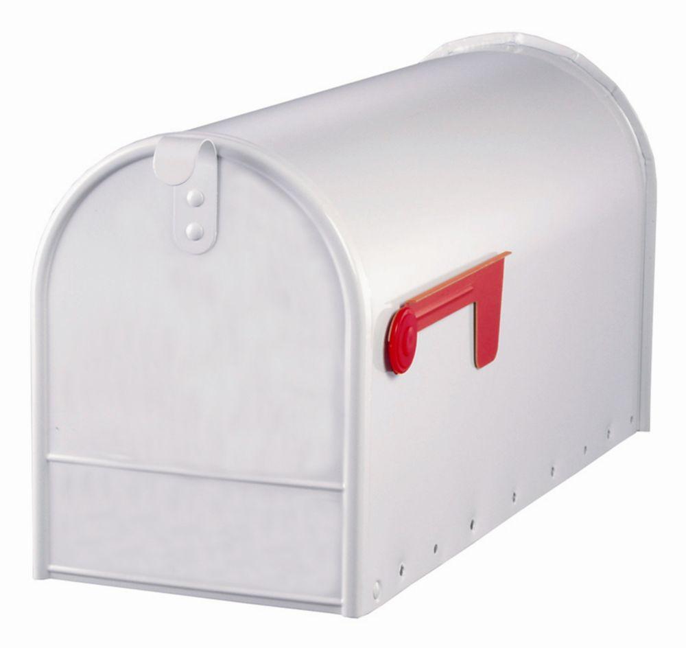 White Elite Curbside Mailbox