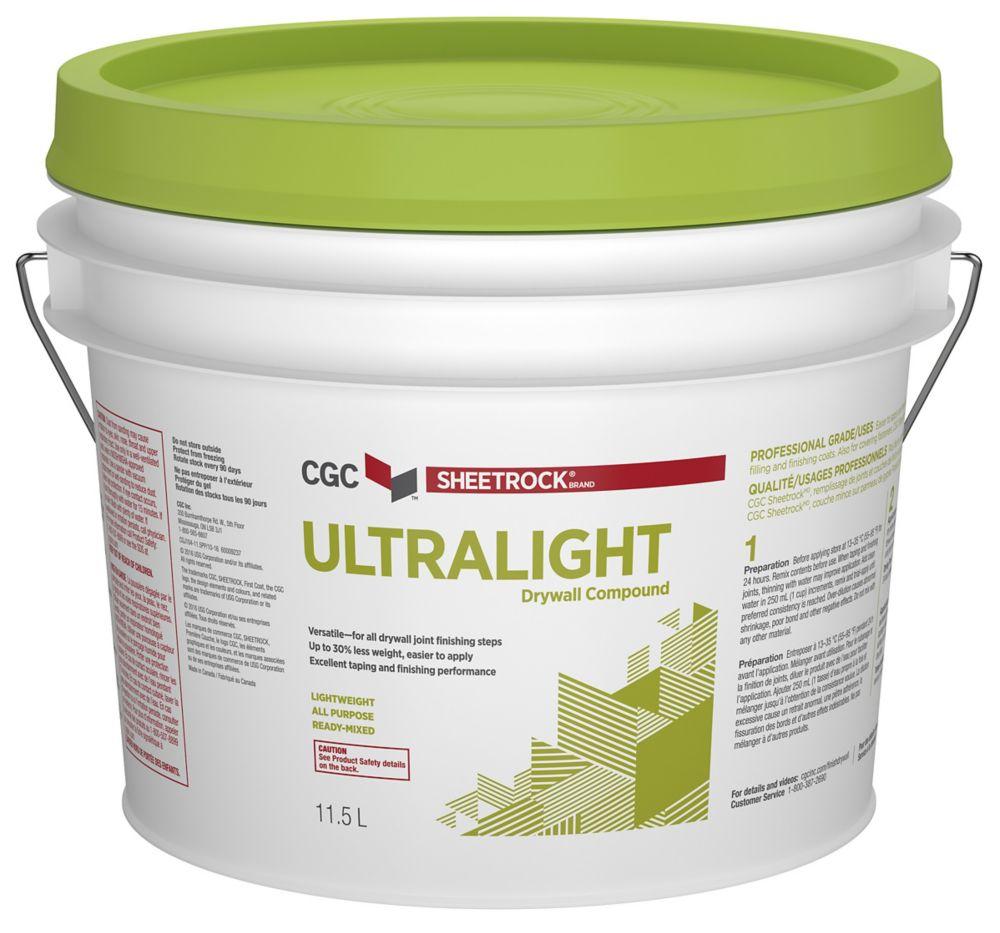 Sheetrock CGC UltraLight Drywall Compound