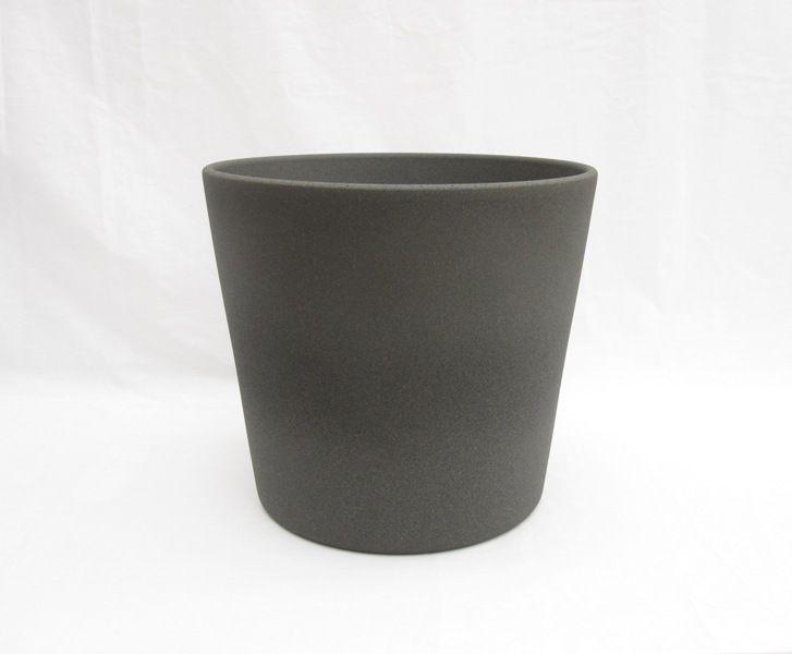 Ceramic Pot Round Granite 10 Inch