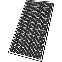 Nature Power 140-Watt Monocrystalline Solar Panel For 12-Volt Charging