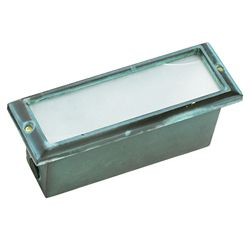 Best Quality 1-Light Brick Step Light Verde Green Finish