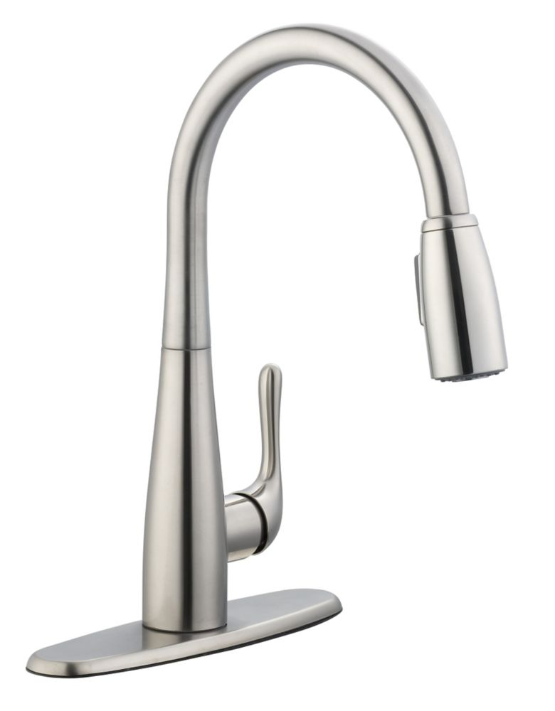 900 Series Pulldown Kitchen Faucet In Stainless Steel 67070-3208D2 Canada Discount