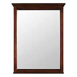 Home Decorators Collection Ashburn 24-inch x 31-inch Wall Mirror in Mahogany