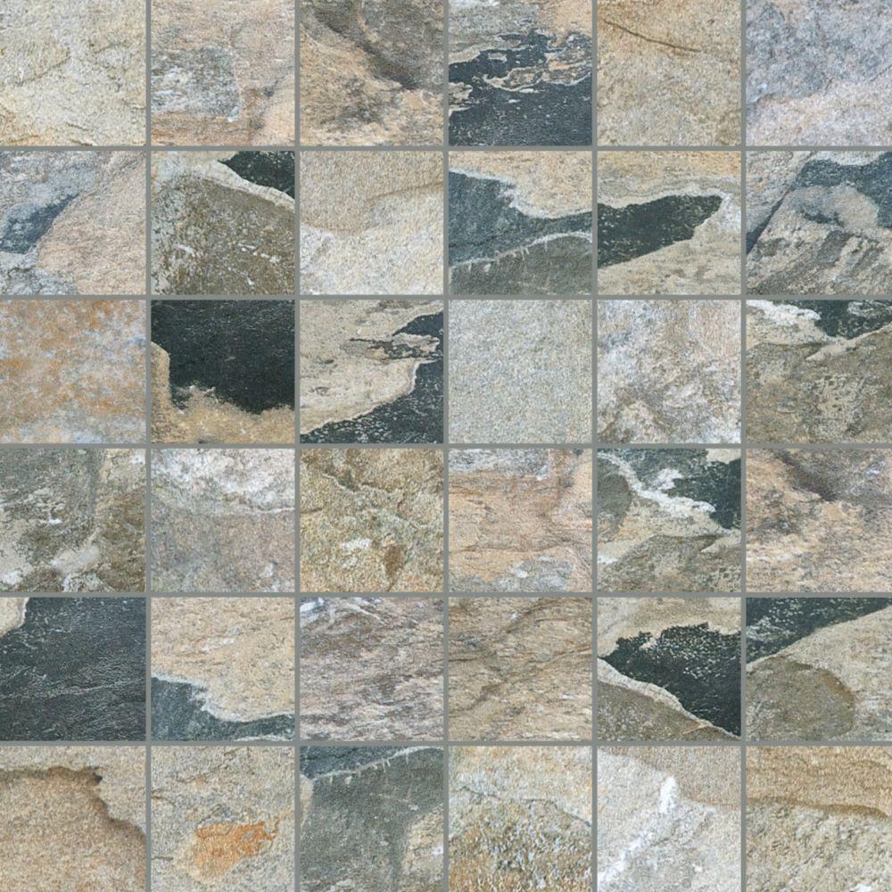 Mosaiques Bengal Sierra de 2 po x 2 po