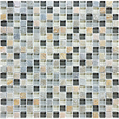 5/8-inch x 5/8-inch Glass Blend Wall Tile in Bengal Autumn