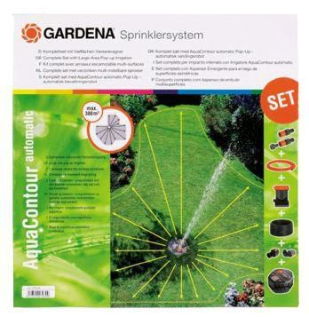 Large-area Pop-up Irrigation AquaContour Automatic Set