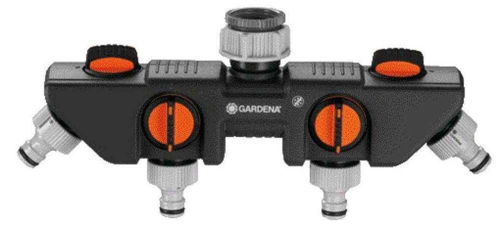 GARDENA Four Channel Water Distributor