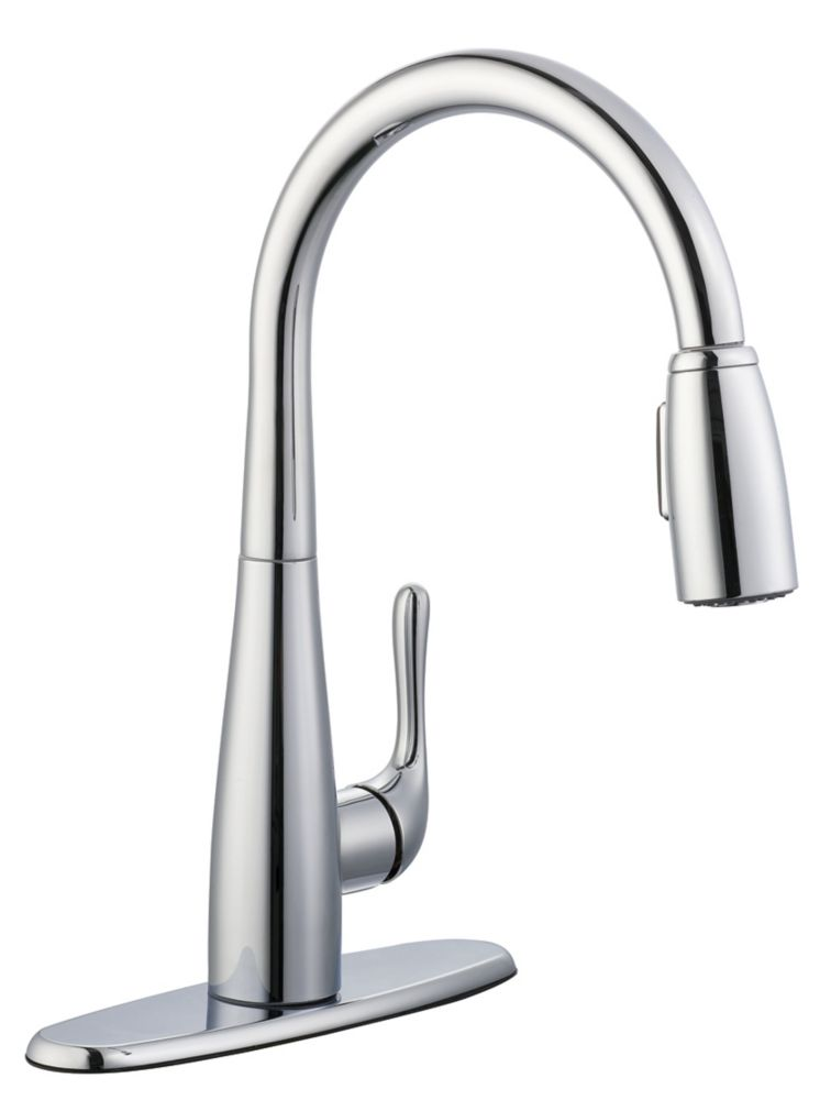 900 Series Pulldown Kitchen Faucet In Chrome 67070-3201 Canada Discount