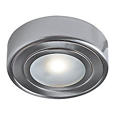 Enviro LED Metal Puck, Satin Nickel