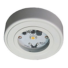 Enviro LED Metal Puck, White