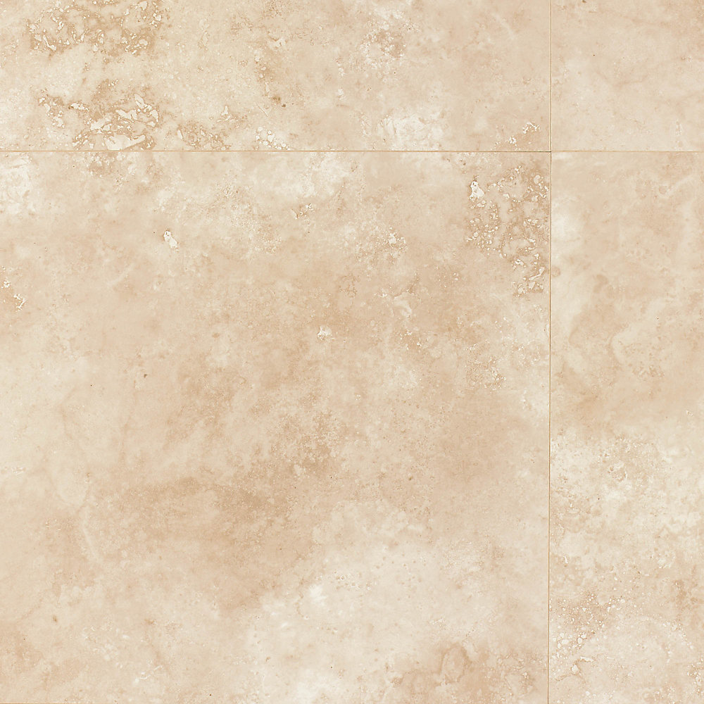 Treviso Almond 8mm Thick x 15.5-inch x 15.5-inch Laminate Tile Flooring (16.88 sq. ft. / case)