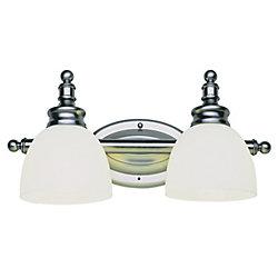 Bel Air Lighting 2- Light Brushed Nickel Vanity Light
