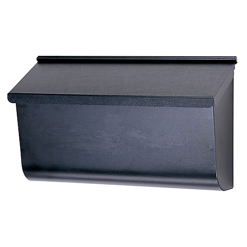 Black Woodlands Wall mount Mailbox