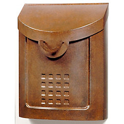 Gibraltar Industries Aged Copper Neo Classic Wall mount Mailbox