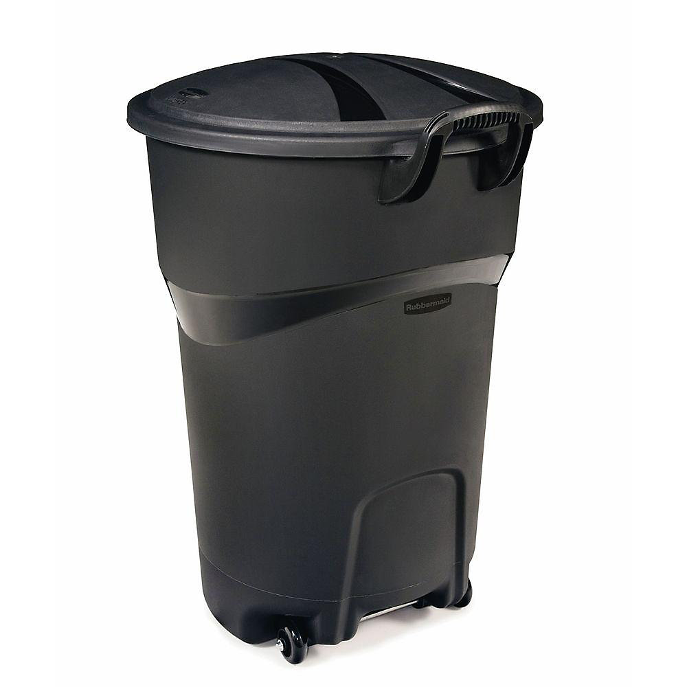 121l 32 Gal Wheeled Trash Can