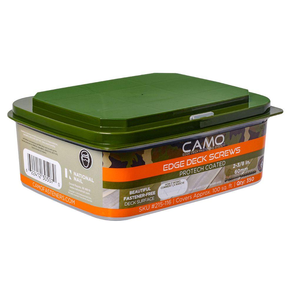 """CAMO Deck Screw  7 x 2 3/8"""" 350 Piece"""