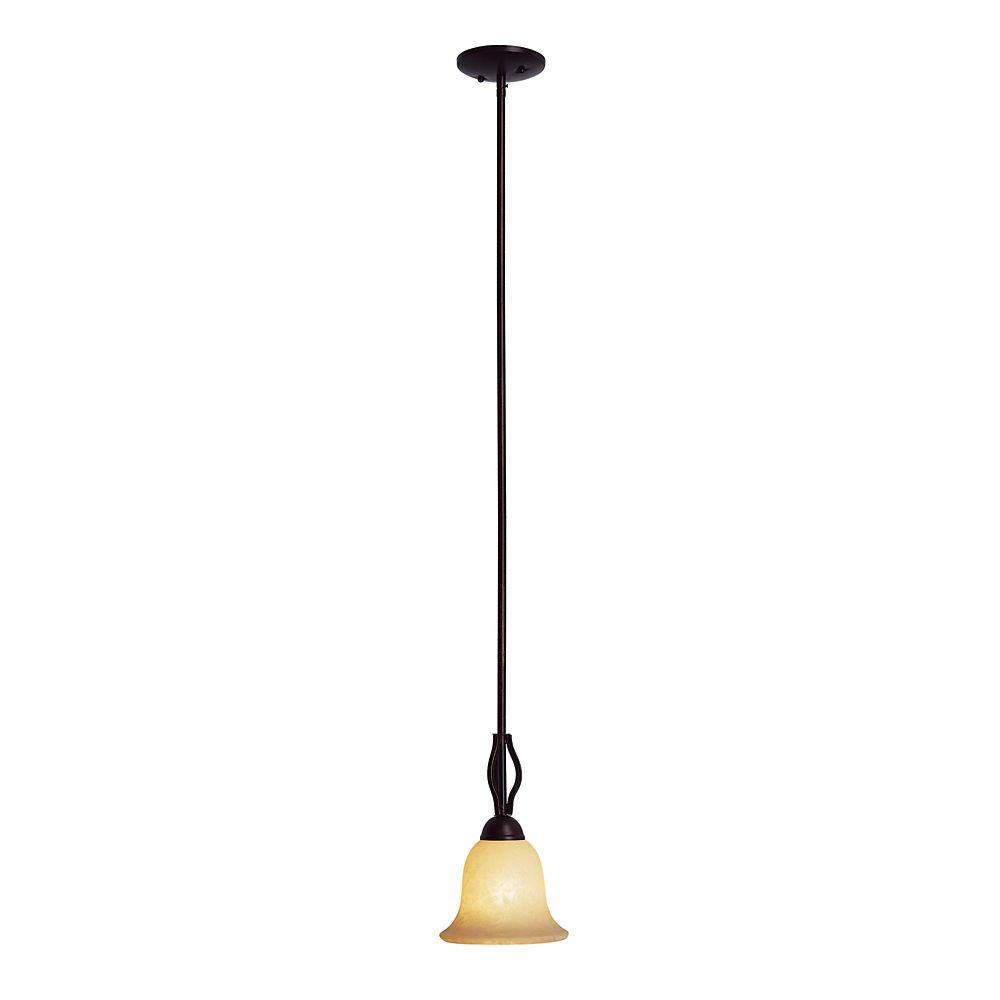 Bel Air Lighting Bronze Hooked Bar Pendant