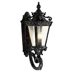 Bel Air Lighting Heritage 4 lumières fini en bronze huilé poncé lanterne murale