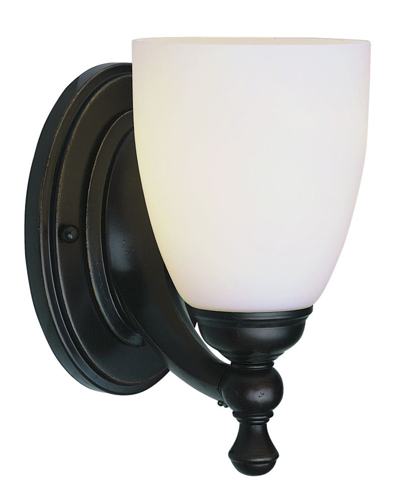 Bel Air Lighting 1- Light Oil Rubbed Bronze Sconce