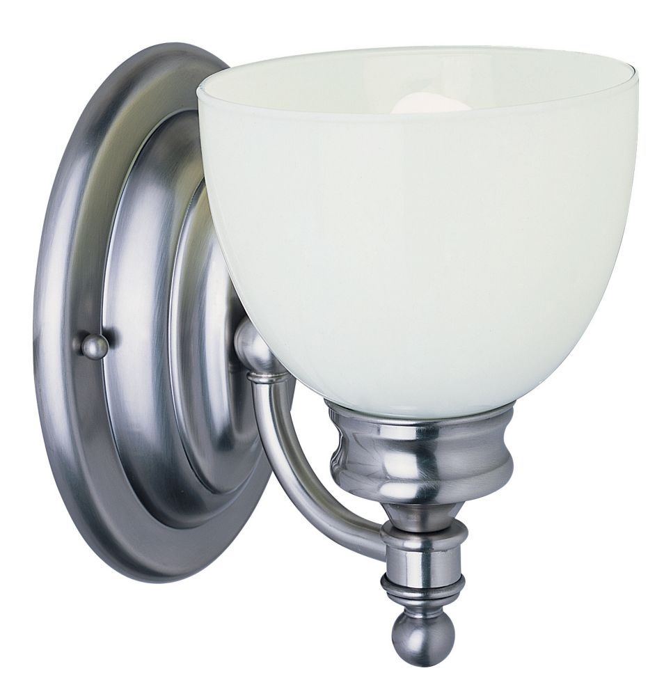 Bel Air Lighting 1- Light Antique Nickel Sconce