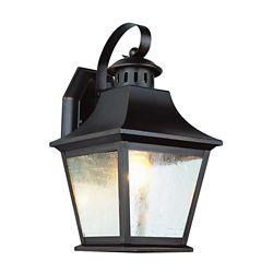 Bel Air Lighting Lanterne de jardin japonais, bronze huilé - moyenne