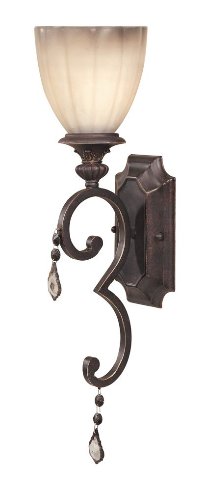 Avila Collection Bronze 1-Light Wall Sconce 1681-89 in Canada
