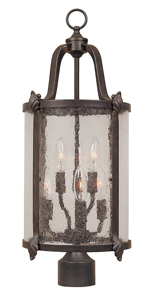 Cairns Collection Bronze 6 Light 11 In Post Lantern