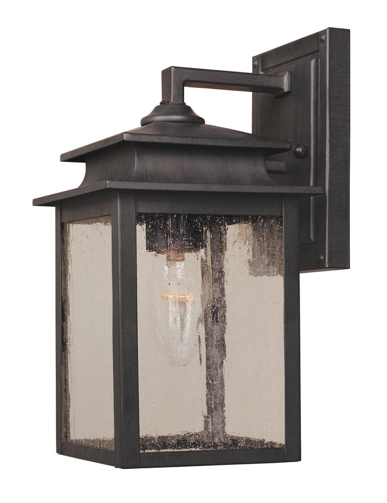 Sutton Collection 6 in. 1-Light Wall Sconce in Rust